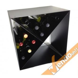 Cantinetta porta bottiglie di vino wine da parete modulare for Porta bottiglie vino