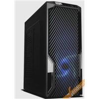 CASE CABINET MIDDLE TOWER SENZA VITI PER PC COMPUTER 2 USB CON ALIMENTATORE 650W
