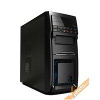 CASE CABINET TOWER SENZA VITI 2USB E AUDIO PER PC COMPUTER CON ALIMENTATORE 500W
