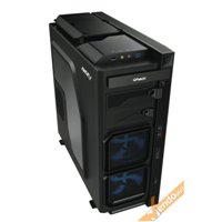 CASE CABINET PC COMPUTER GAMING SUPPORTI ANTI-SHOCK LIQUID COOLER PORTA HDD FDD