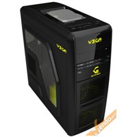 CASE CABINET PC COMPUTER GAMING ANTI-SHOCK LIQUID COOLER HDD DOCKING E POSTO FDD