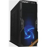 CASE ATX COMPUTER CABINET PC TOWER METALLO PLASTICA NERO CON ALIMENTATORE 650W