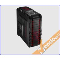 CASE ATX XL COMPUTER SERVER CABINET PC FULL TOWER PER LIQUID COOLER LUCE ROSSA