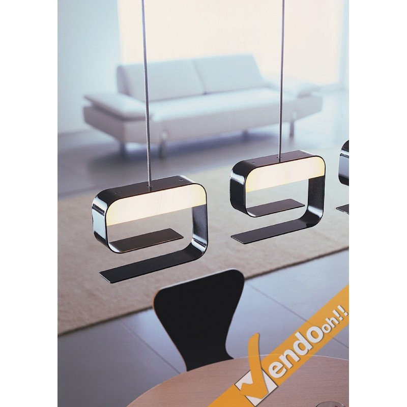 lampadari design offerte : Denim sospensione colorata lampadario moderno cucina design silven