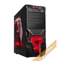 CASE COMPUTER PC GAMING ATX IN METALLO CON MANIGLIA USB 3 VENTOLA LUMINOSA A LED