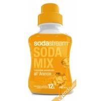 ARANCIO SCIROPPO SUCCO SODASTREAM SODAMIX 500 ML CONCENTRATO PREPARATO PER 12 L