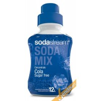 COLA SUGAR FREE SCIROPPO SUCCO SODASTREAM SODAMIX 500 ML CONCENTRATO PREPARATO