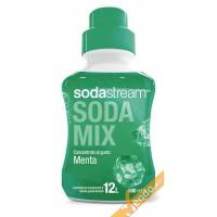 GUSTO MENTA SCIROPPO SUCCO SODASTREAM SODAMIX 500 ML CONCENTRATO PREPARATO 12L