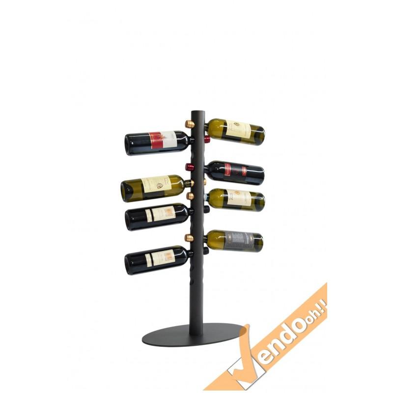 Espositore portabottiglie porta bottiglie vino wine pavimento ristorante dol105 e - Porta vino da parete ...