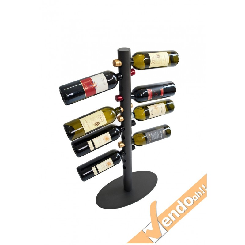 Espositore portabottiglie porta bottiglie vino wine pavimento ristorante dol105 e - Porta bottiglie ...