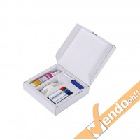 KIT COMPLETO MAGNETI PENNARELLI CANCELLINO SPRAY LAVAGNA MAGNETICA BOARD/KIT