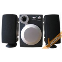 COPPIA CASSE AUDIO USB CON WOOFER SPEAKER PER COMPUTER PC PORTATILE MAC WINDOWS
