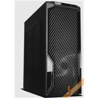 CASE CABINET MIDDLE TOWER SENZA VITI PER PC COMPUTER 2 USB CON ALIMENTATORE 500W