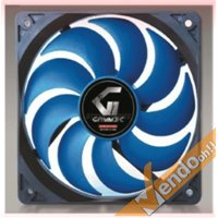 VENTOLA RAFFREDDAMENTO COMPUTER COLORATA BLU PC FAN 12X12 CM 3 O 4 PIN 12 VOLT