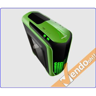 CASE ATX COMPUTER CABINET PC TOWER METALLO PLASTICA NERO CON ALIMENTATORE 500W
