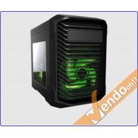 CASE MICRO ATX COMPUTER CABINET PC BIG CUBE ALLOGGI SSD BASCULANTI USB3.0 2.0