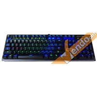 TASTIERA MECCANICA TASTI LED RGB GAMING SWITCH BLU PROGRAMMABILE MILITARY GRADE