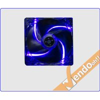 VENTOLA RAFFREDDAMENTO COMPUTER CASE PC FAN 14 CM 4 + 3 PIN 12 V LUCE BLU