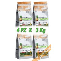 FITNESS3 JUNIOR MEDIUM MAXI SECCO ANATRA CANE ADULTO MEDIO GRANDE 3KG X 4 PZ