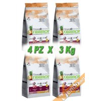 FITNESS3 ADULT MEDIUM MAXI SECCO AGNELLO CANE ADULTO MEDIO GRANDE 3KG X 4 PZ