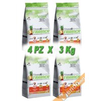 FITNESS3 ADULT MEDIUM MAXI SECCO CONIGLIO CANE ADULTO MEDIO GRANDE 3KG X 4 PZ