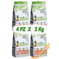 FITNESS3 ADULT MEDIUM MAXI SECCO MAIALE CANE ADULTO MEDIO GRANDE 3KG X 4 PZ