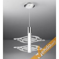 INFORMALE LAMPADA LAMPADARIO DA SOSPENSIONE VARI COLORI RISPARMIO ENERGETICO 2P