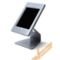 "SUPPORTO ESPOSITORE DA TAVOLO BANCO DESKTOP PORTA TABLET APPLE IPAD 10"" POLLICI"