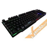 TASTIERA ILLUMINATA MULTIMEDIALE COMPUTER PC ANTIGHOST GAMING GAMMEC 3 COLORI