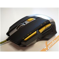 MOUSE PROGRAMMABILE USB A FILO OTTICO GAMING GAME 1200 1600 2000 2400 3200 DPI