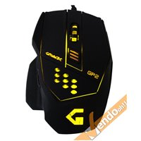 MOUSE USB A FILO OTTICO GAMING COMPUTER PC GAME 800 1600 2400 3200 DPI 7 TASTI