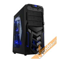 CASE COMPUTER PC GAMING ATX IN METALLO CON MANIGLIA USB 3 VENTOLA LUMINOSA ARES