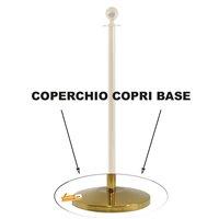 COPERCHIO DELLA BASE DI RICAMBIO PER NOSTRA COLONNINA GOLD STOP41