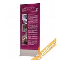TOTEM ESPOSITORE BIFACCIALE PUBBLICITA INFORMAZIONE COMUNICAZIONE GRAFICA 100200