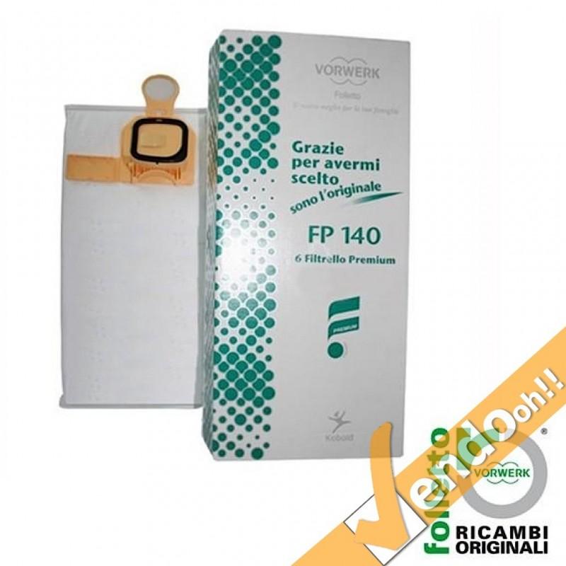 6 filtri filtrelli originale aspirapolvere vorwerk - Aspirapolvere folletto vk 140 ...